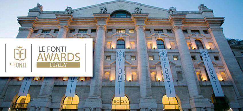 Infoservice finalista alla VIII edizione dei Le Fonti INNOVATION Awards®