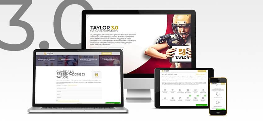 Taylor 3.0 online con il nuovo portale dedicato