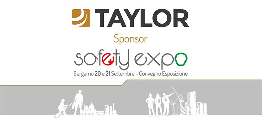 Taylor sponsor SafetyExpo 2017
