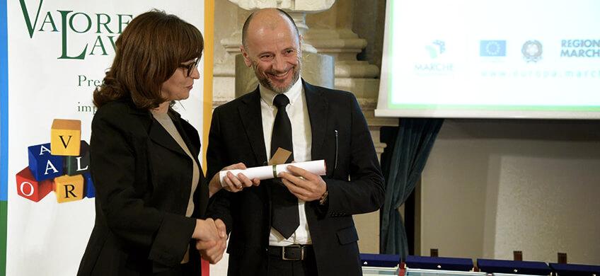 Infoservice riceve il premio Valore Lavoro 2016